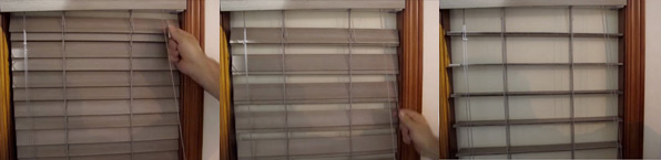 Doubleview Wood Blinds