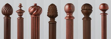 Wood Drapery Rods