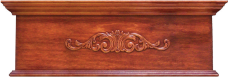 Bordeaux Wood Cornice