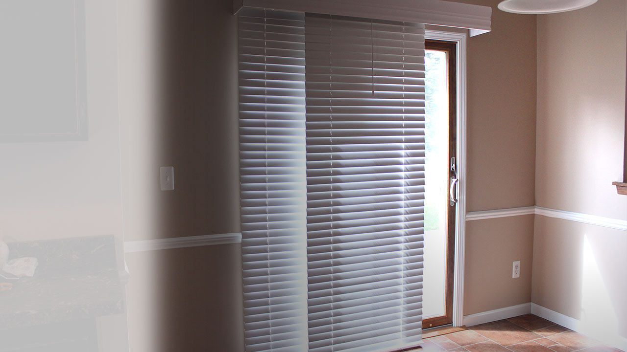 Slide door blinds - Blinds For Sliding Doors