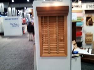 Horizontal wood blinds Glider Blinds